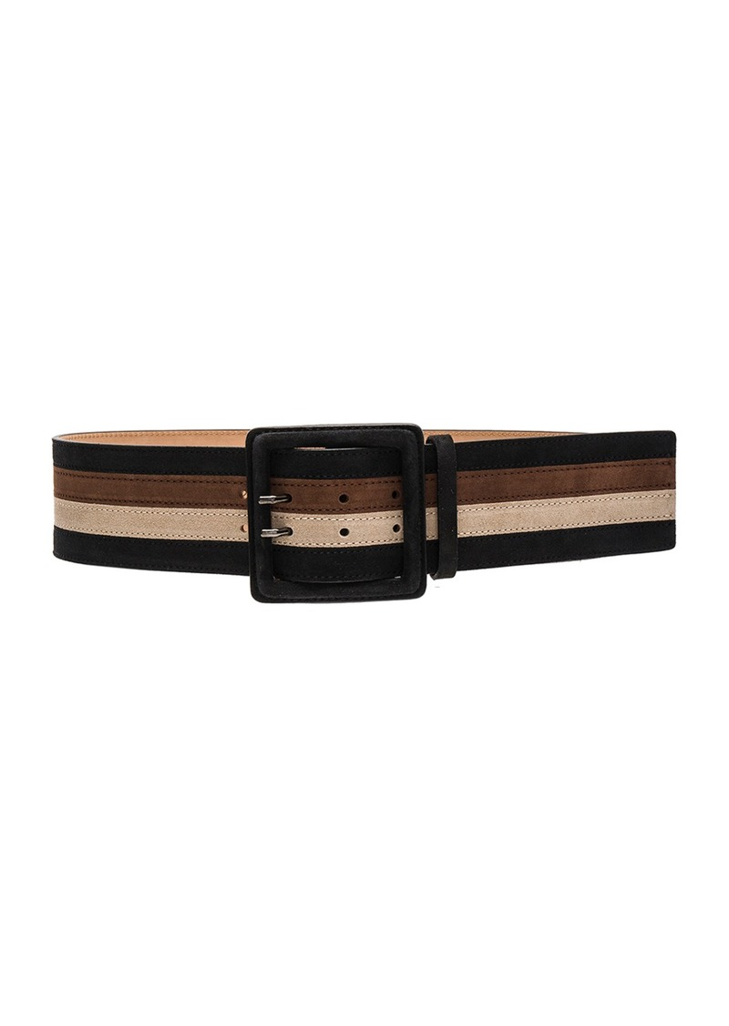 Alice + Olivia 4 Pieced Striped Belt