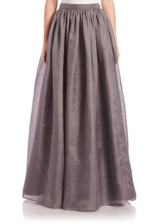 Alice + Olivia Abella Silk Ball-Gown Skirt