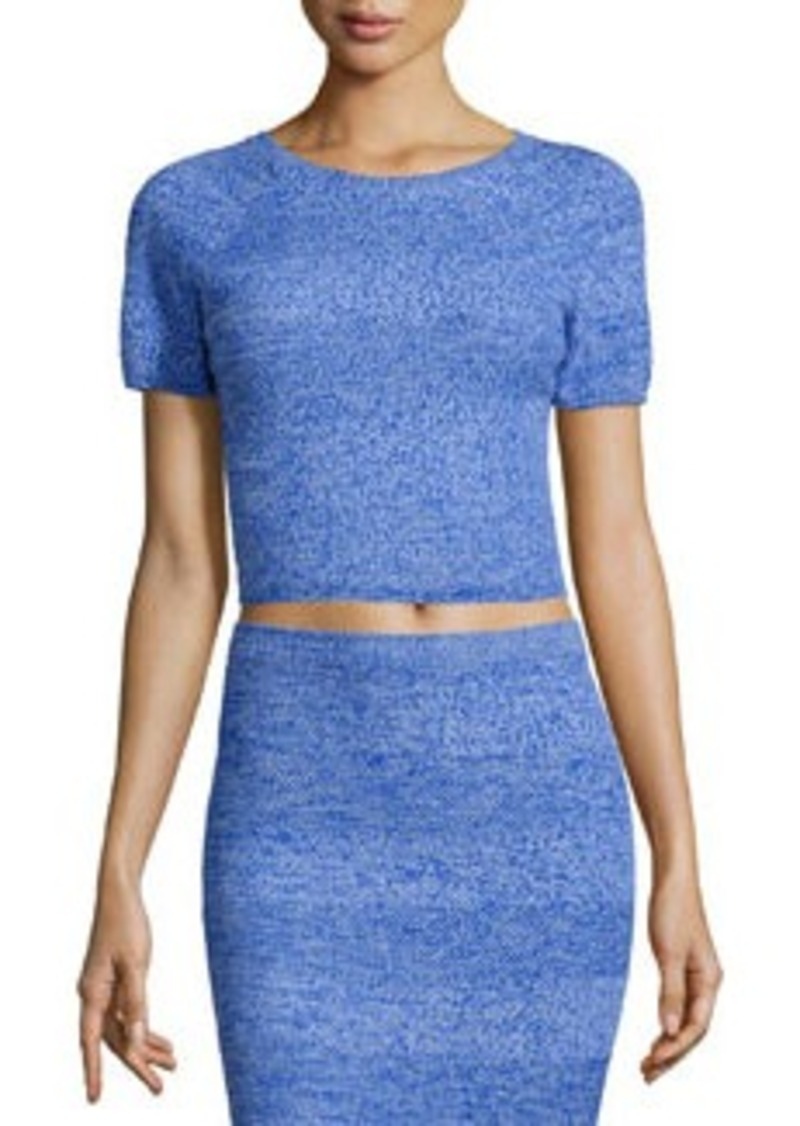 Alice + Olivia Solange Wool Crop Top