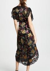 alice + olivia Adele Wrap Dress