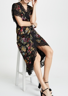 alice + olivia Adele Wrap Dress