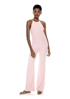 alice + olivia ADINAH HIGH NECK JUMPSUIT