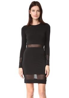 alice + olivia AIR Madie Long Sleeve Dress
