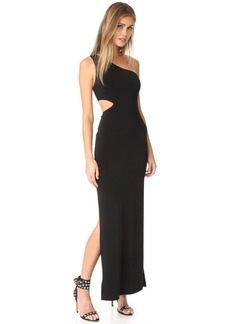 alice + olivia AIR Malia One Shoulder Maxi Dress