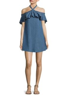 Alice + Olivia Alexia Chambray Dress