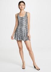 alice + olivia Alicia Godet Midi Tank Dress