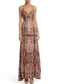 Alice + Olivia Alves Maxi Dress