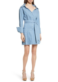 Alice + Olivia Amanda Belted Shirtdress
