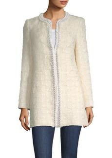 Andreas Pearl-Embellished Tweed Jacket