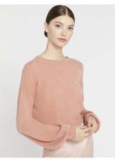 alice + olivia ANSLEY WIDE SLEEVE CROPPED SWEATER