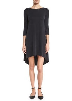 Alice + Olivia Arias 3/4-Sleeve T-Shirt Dress
