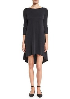 Alice + Olivia Arias 3/4-Sleeve T-Shirt Dress