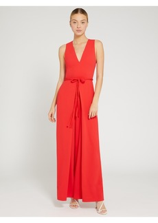 alice + olivia AUDRIE PLEATED JUMPSUIT