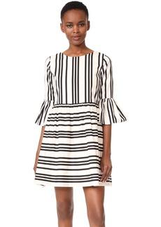 alice + olivia Augusta Ruffle Sleeve Dress