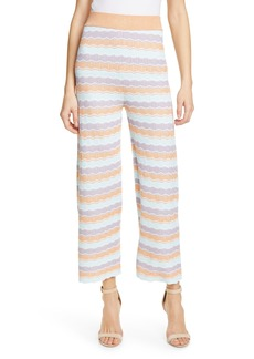 Alice + Olivia Basil Knit Crop Pants