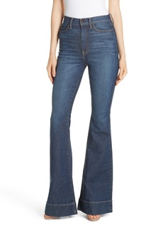 Alice + Olivia Beautiful High Waist Bell Bottom Jeans (So Clever)