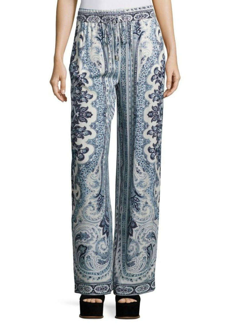 Alice + Olivia Benny Drawstring Pants