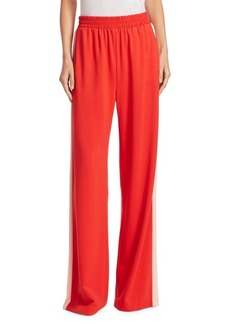 Alice + Olivia Benny Smocked Track Pants