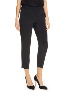 Alice + Olivia Benny Tapered Pull-On Pants