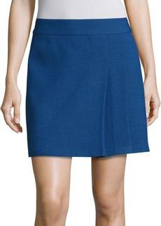 Alice + Olivia Bianka Pleated Mini Skirt