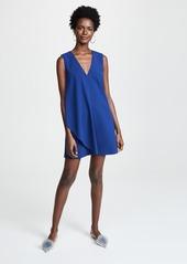 alice + olivia Bibi Drape Dress