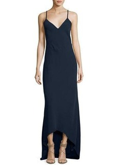 Alice + Olivia Bredes Scoop-Back Maxi Slip Dress