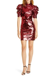 Alice + Olivia Brenna Sequin Cocktail Dress
