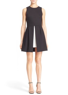 Alice + Olivia 'Bria' Peplum Fit & Flare Dress