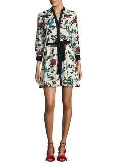 Alice + Olivia Brooklynn Floral Dress