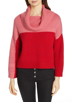 Alice + Olivia Bryant Colorblock Sweater