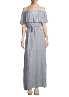 Alice + Olivia Grazi Off-The-Shoulder Dress