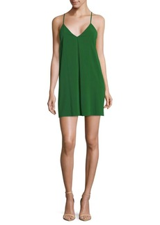 Alice + Olivia by Stacey Bendet Y-Back Mini Dress