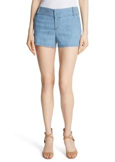 Alice + Olivia Cady Lyocell Blend Shorts
