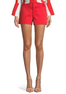 Alice + Olivia Cady Techno Shorts