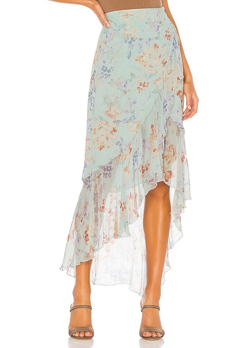 Alice + Olivia Caily Ruffled Skirt