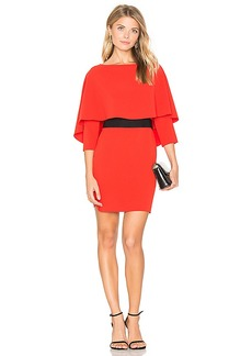 Alice + Olivia Cairo Boatneck Dress in Red. - size 2 (also in 4,6,8)