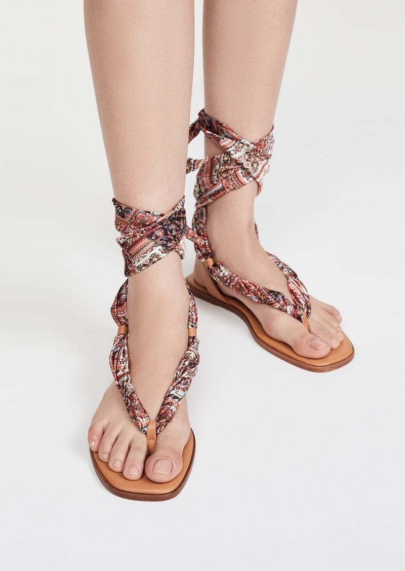 alice + olivia Caliea Wrap Sandals