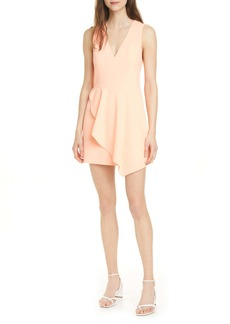 Alice + Olivia Callie Asymmetrical Minidress