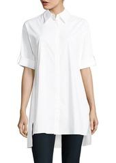 Alice + Olivia Camron Collared Dress Shirt