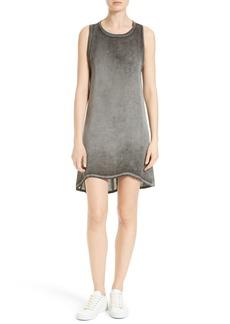 Alice + Olivia Carlita Silk Knit Tank Dress