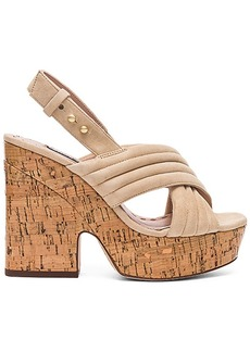Alice + Olivia Charlize Heel in Beige. - size 39 (also in 37,41)