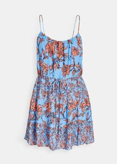 alice + olivia Cheyla Drawstring Dress