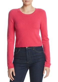 Alice + Olivia Ciara Cropped Cashmere Sweater
