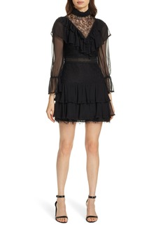 Alice + Olivia Clea Tiered Ruffle Dress