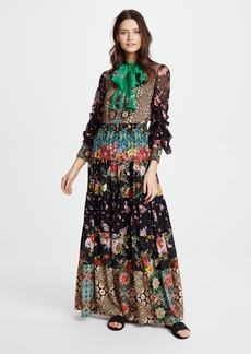 alice + olivia Clementine Maxi Dress