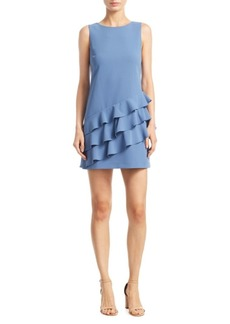 Alice + Olivia Clive Asymmetric A-Line Dress