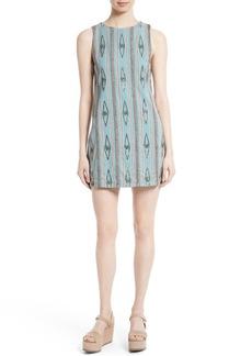 Alice + Olivia Clyde Embellished Shift Dress
