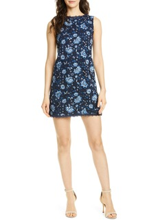 Alice + Olivia Clyde Lace Sheath Dress
