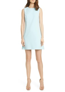Alice + Olivia Coley Crepe A-Line Dress