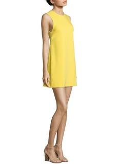 Alice + Olivia Coley Crewneck A-Line Dress